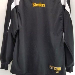 NFL Pittsburgh Steelers Long Sleeve Shirt Size Med